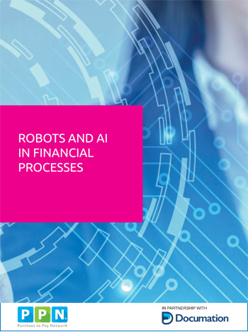 Robots and AI in Financial Processes cover