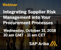 sap ariba webinar 31st Oct
