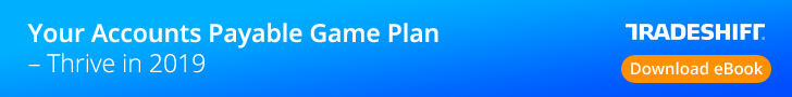 Tradeshift - Accounts Payable 2019 Game Plan eBook