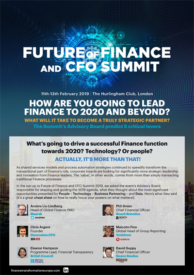 future of finance summit 2019 report cov